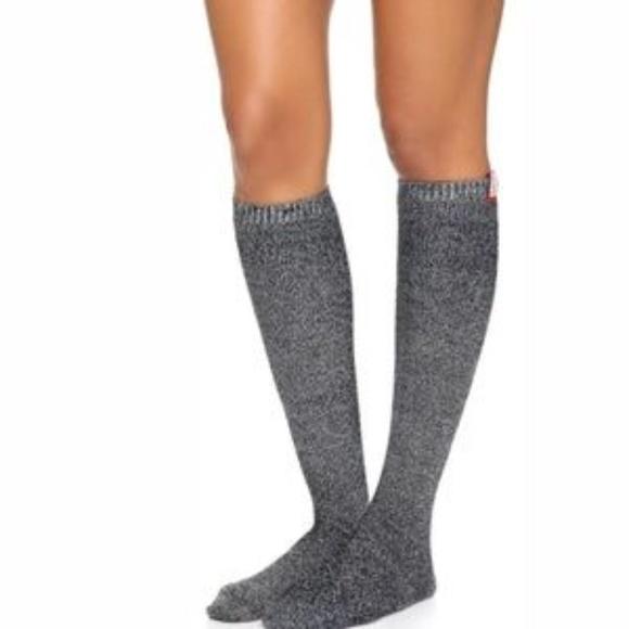 167746e01cb Hunter Mouline Wool Blend Knee High Socks S M